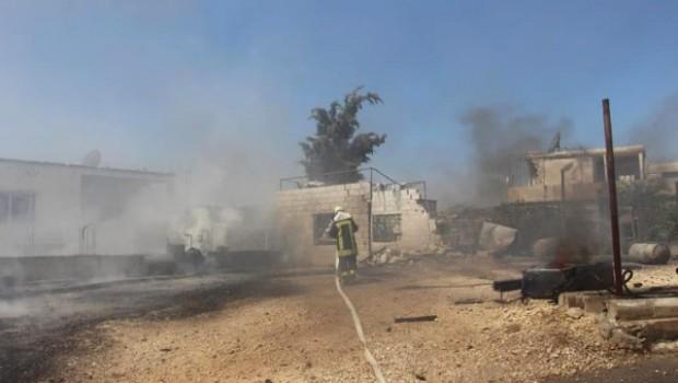 Rusya'nın İdlib'e hava saldırısının bilançosu