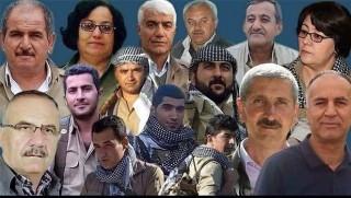 Kürdistani Partiler Rojhilat şehitleri için taziye kuruyorlar
