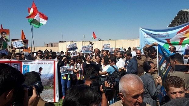 Erbil'de İran protesto edildi!