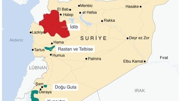 Almanya'dan İdlib açıklaması: Operasyon doğal bir davranış