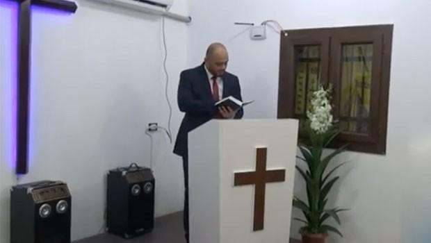 Kobani'de kilise açıldı