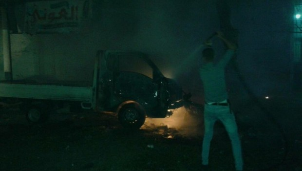 Menbic'de patlama: 6 yaralı