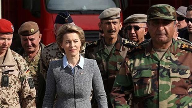 Almanya Savunma Bakanı Leyen Erbil'de