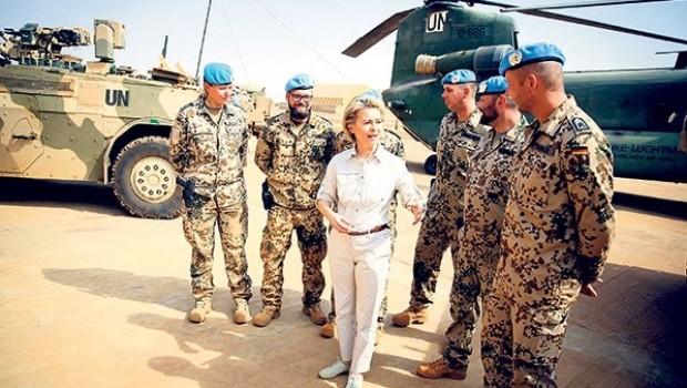 Almanya'dan Ortadoğu'ya Askeri plan hazırlığı