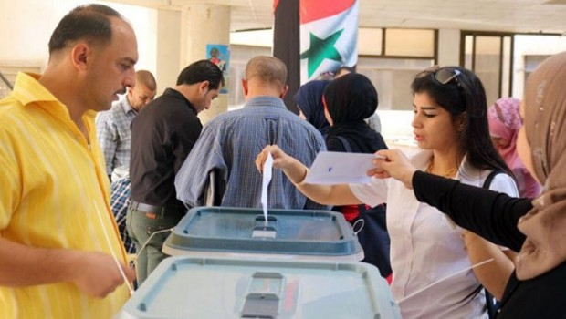Suriye'de hükümet kontrolündeki bölgelerde yerel seçim