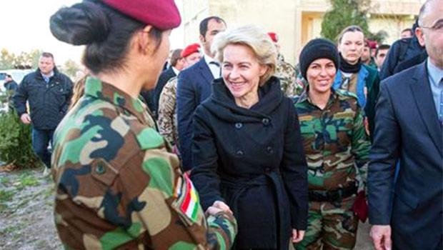 Almanya'dan Kürdistan kararı: Danışman sayısını azaltılıyor!