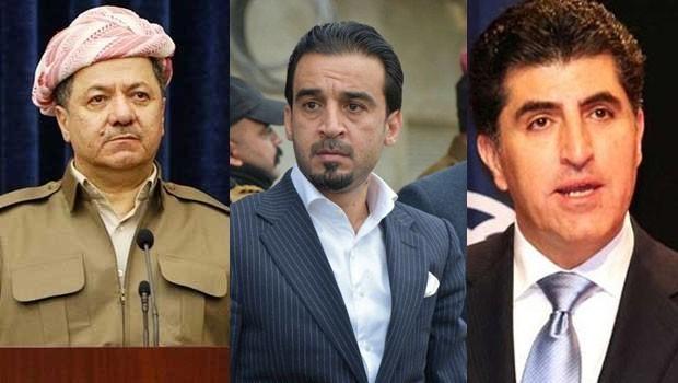 Başkan Barzani ve Başbakan Barzani'den Helbusi'ye tebrik