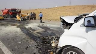 Çemçemal'de feci kaza: Ölü ve yaralılar var