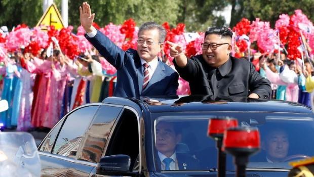 Güney Kore lideri yıllar sonra Kuzey Kore'de
