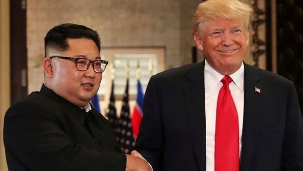 Trump, Kuzey Koreyi övdü: Zekice bir adım