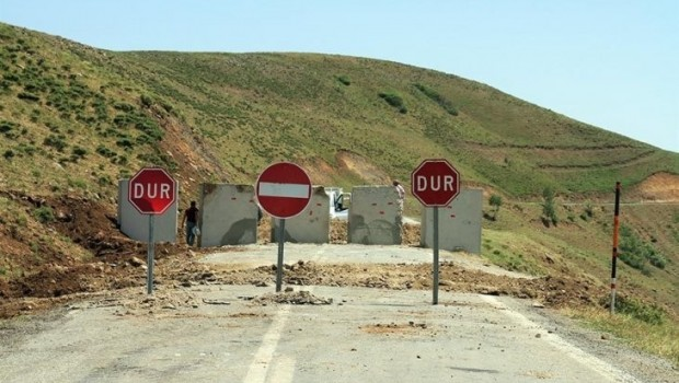 Hakkari'de 30 bölgeye yasak getirildi