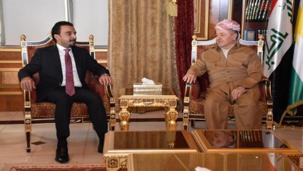 Başkan Barzani Halbusi'yle son gelişmeleri değerlendirdi