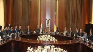 Başkan Barzani: Stratejik hedeflere bağlı kalınmalı!