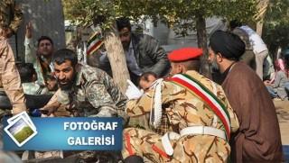 İran'da bilonça çok ağır... İşte saldırının fotoğrafları!