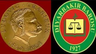 Uluslararası insan hakları Ludovic Trarieux Jüri Özel Ödülü, Diyarbakır Barosu'na verildi