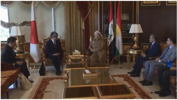 Başkan Barzani: Japonya ile işbirliğine hazırız