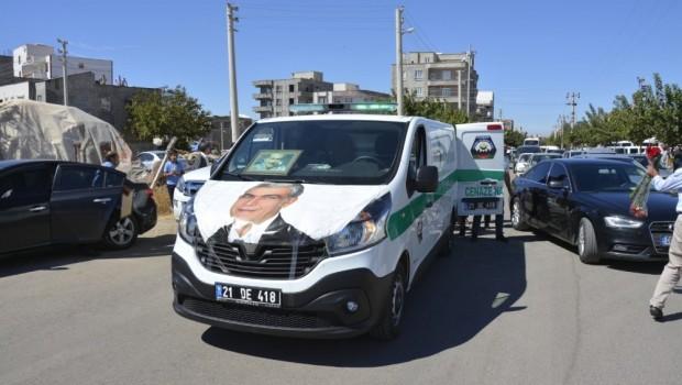 HDP'li Ayhan Son Yolculuğuna Uğurlandı