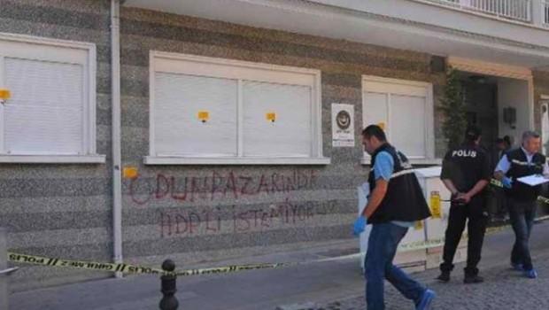 Avukatlık bürosuna silahlı saldırı: HDP'li istemiyoruz