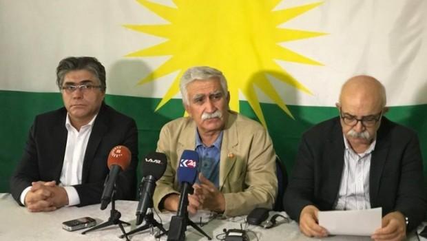 Kürdistani partilerden referandum yıldönümünde ortak açıklama