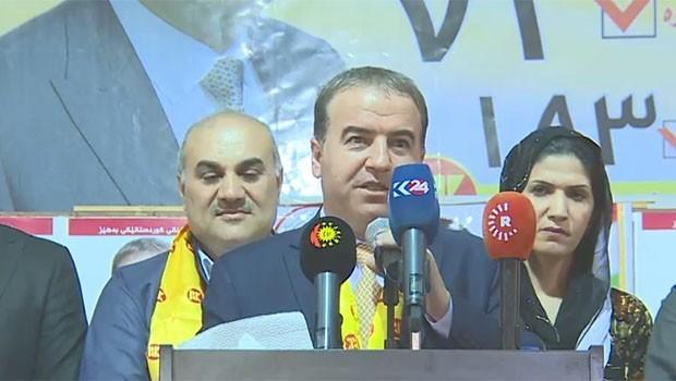 PDK'li Hewrami'den çağdaş Anayasa vurgusu