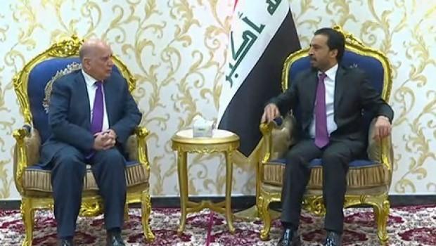 Fuad Hüseyin'den Bağdat'ta kritik görüşme