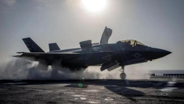 ABD'de F-35B uçağı düştü