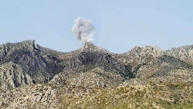 İran İHA'ları PDK-İ'yi bombaladı.. Yaralılar var!