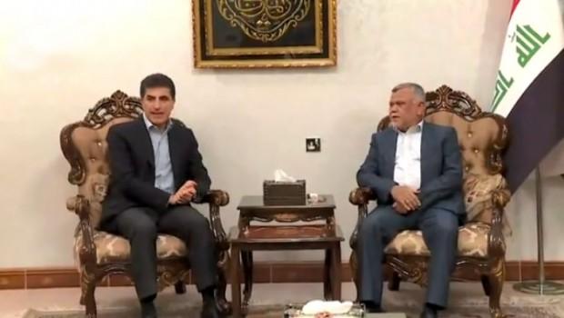 Başbakan Neçirvan Barzani Bağdat'ta