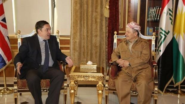 İngiliz Büyükelçi'den Başkan Barzani'ye: Kürdistan'ın güçlenmesini umuyoruz