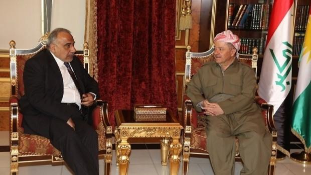Başkan Barzani'den Abdulmehdi'ye tebrik telefonu