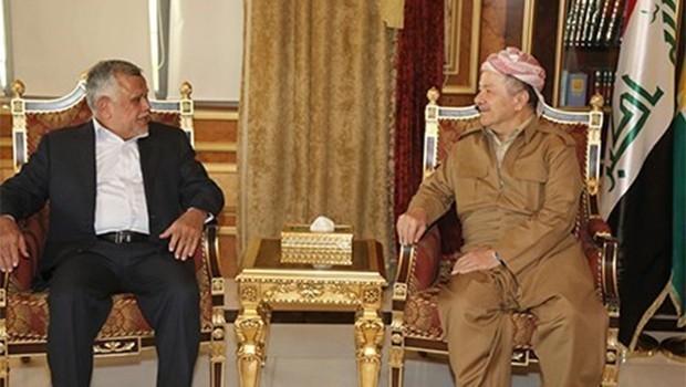 Başkan Barzani'yle görüşen Amiri: Olanlar üzüntü verici