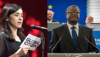 Nobel Barış Ödülü Mukwege ve Ezidi Kürt Nadia Murad'a verildi