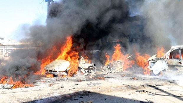 Azez'de patlama... Çok sayıda ölü ve yaralı var!