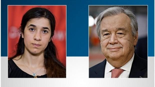 BM'den Nadia Murad'a kutlama