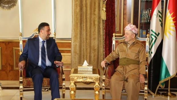 Başkan Barzani, Sünni heyetle görüştü