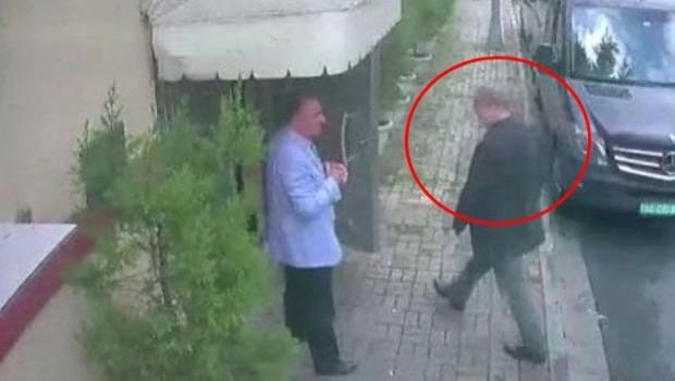 Kayıp Suudi Gazeteci Cemal Kaşıkçı'nın son görüntüsü ortaya çıktı