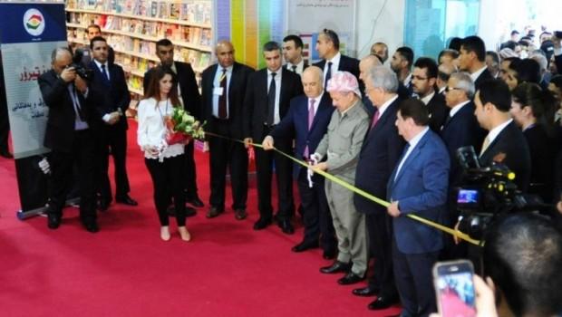Erbil Uluslararası Kitap Fuarı başladı