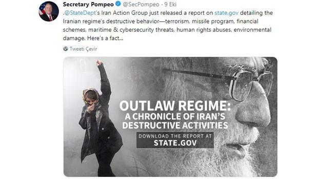 ABD: İran, terörizme 16 milyar dolar harcadı