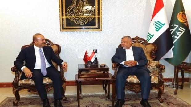 Çavuşoğlu ile görüşen Amiri: Türk askeri çekilmeli