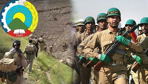 Rojhilat'ta Peşmerge ve iran askerleri arasında çatışma