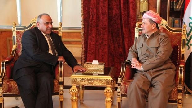 Mustakbel başbakanın son görüşmesi Başkan Barzani'yle