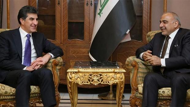 Başbakan Barzani, Abdulmehdi ile görüştü