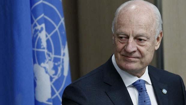 BM Suriye Özel Temsilcisi görevini bırakıyor