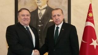 Erdoğan Pompeo'yla görüştü
