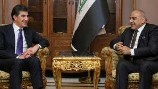 Başbakan Barzani ile Adil Abdülmehdi görüştü
