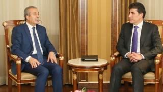 Başbakan Barzani Türkiye heyetini kabul etti