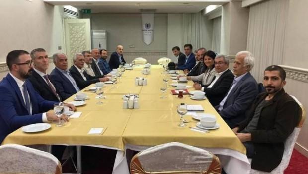 HDP Kürt partileriyle bir araya geldi