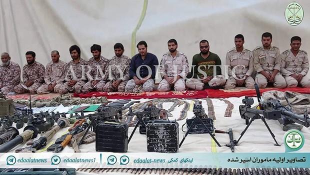 Kaçırılan İran askerlerinin görüntüsü yayınlandı