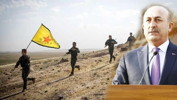 Çavuşoğlu'ndan ABD ve YPG açıklaması