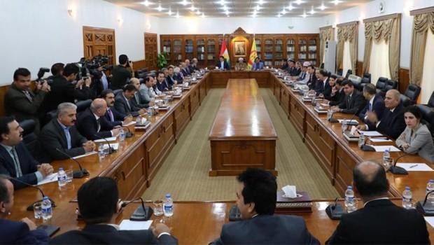 Kürdistan'da hükümet çalışmaları başladı